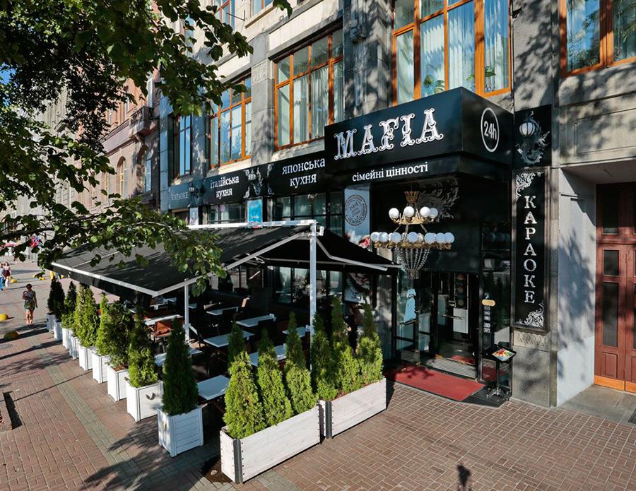 Ресторан MAFIA на Крещатике