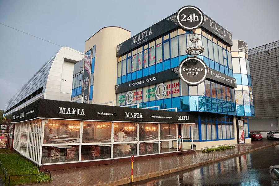 Ресторан MAFIA в ТЦ «Квадрат»