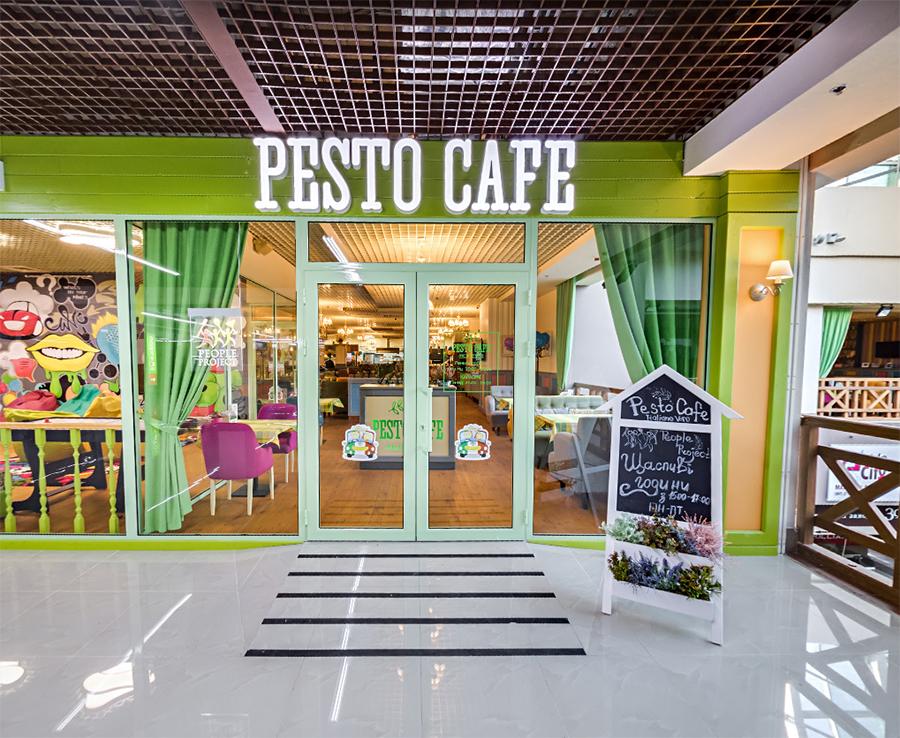 Ресторан Pesto Café Осокорки