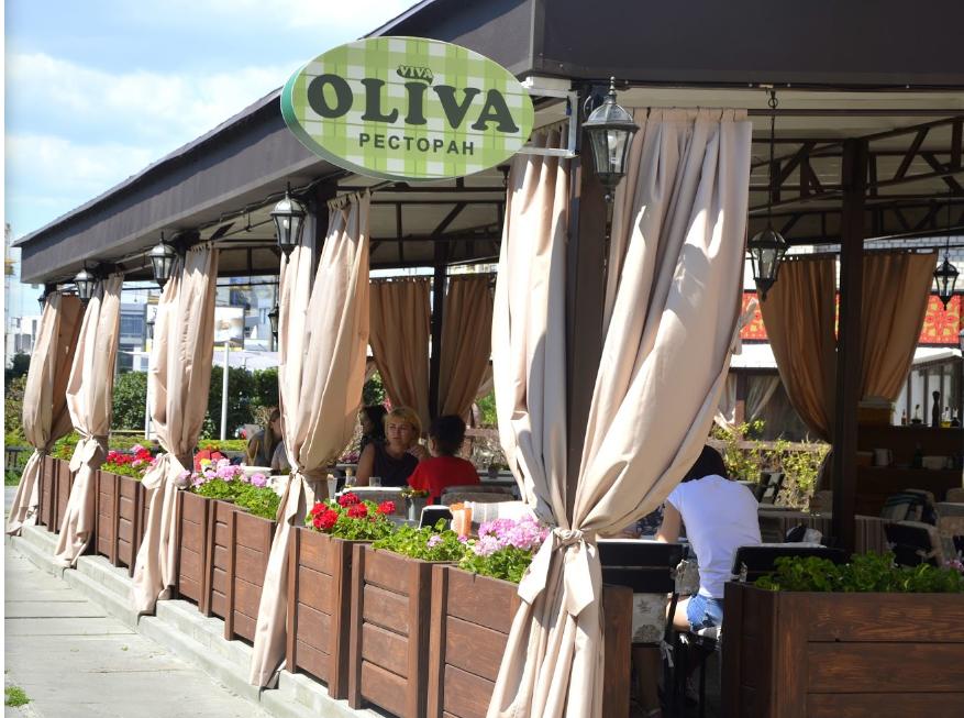 Ресторан Viva Oliva на ул. Княжий Затон