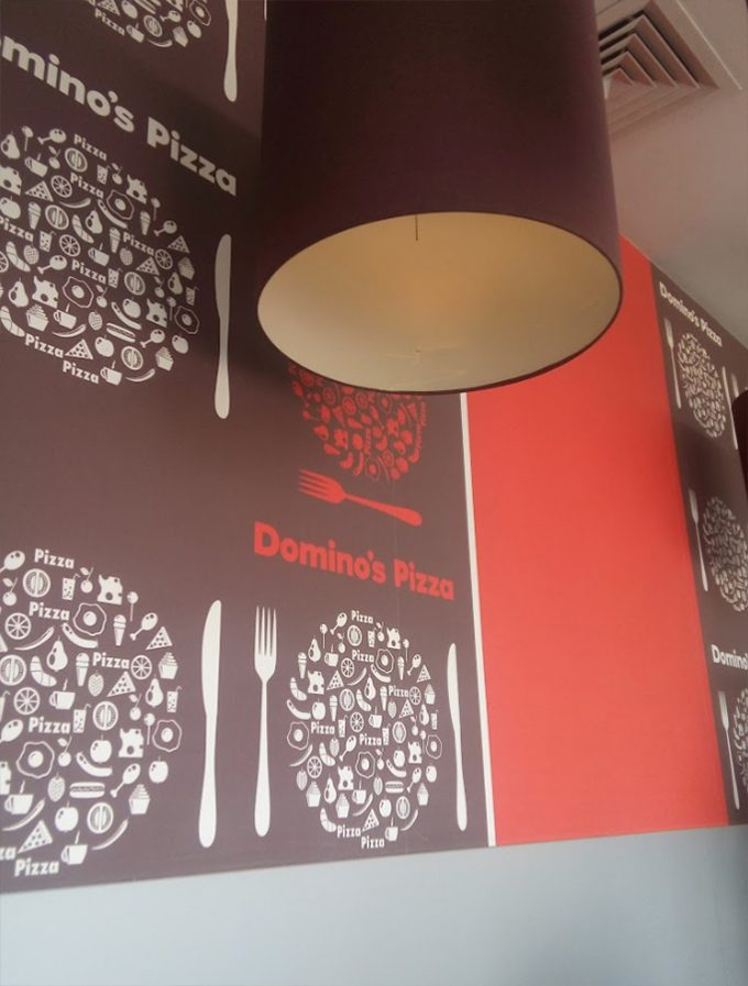 Domino`s Pizza на ул. Драгоманова - интерьер