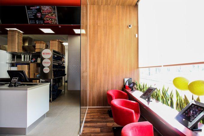 Domino`s Pizza в ТРЦ Квадрат - детская игровая зона