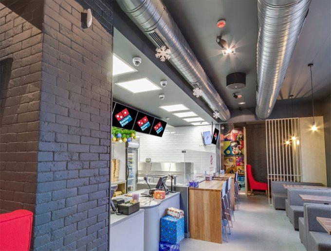 Domino's Pizza на ул. Мельникова - интерьер