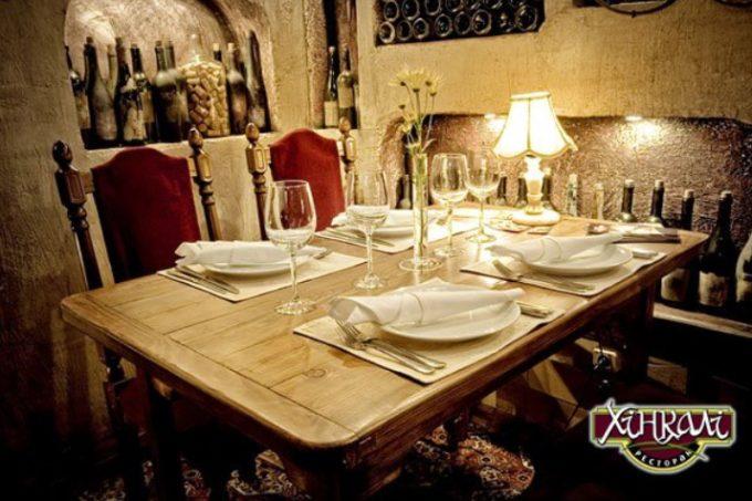 Ресторан Хинкали - интерьер и атмосфера