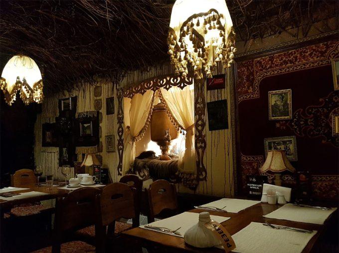 Ресторан Хинкали - интерьер