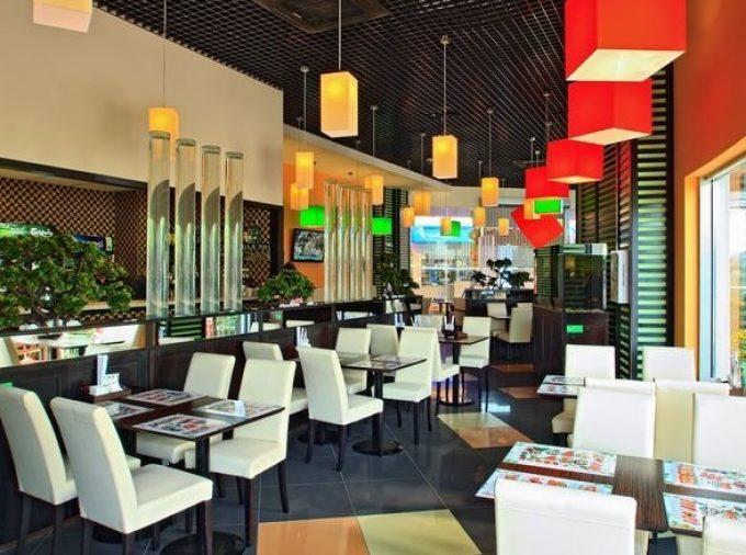 Ресторан «Сушия» на ул. Н. Лаврухина, ТРЦ «Район»