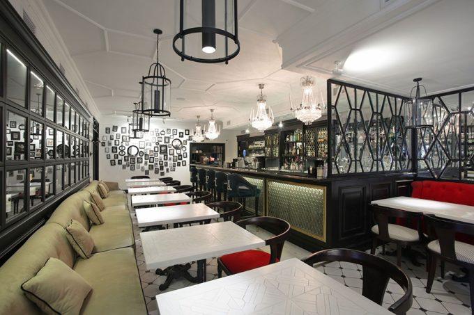 Ресторан MAFIA на пр. Победы - современный интерьер