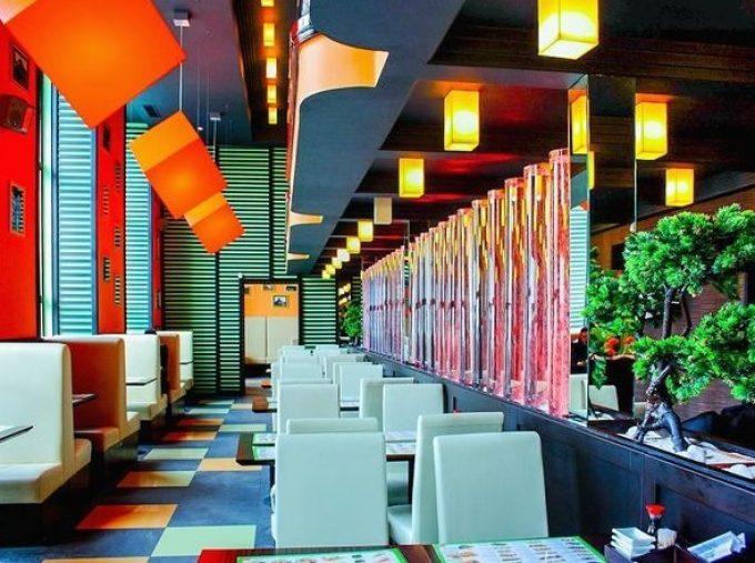 Ресторан «Сушия» на ул. М. Грушевского