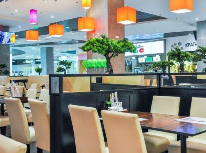 Ресторан «Сушия» на улице Горького, ТРЦ «Ocean Plaza»