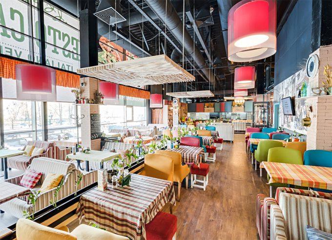 Pesto Café на Лобановского - интерьер