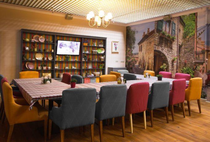 Pesto Café на Лобановского - зал для мероприятий