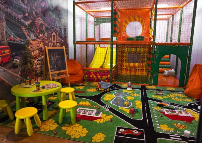Pesto Café на Лобановского - детская комната