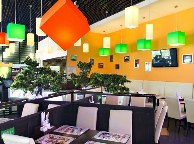 Ресторан «Сушия» на просп. Генерала Ватутина, ТРЦ