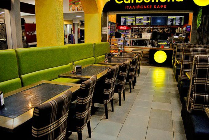 Ресторан Carbonella в ТЦ Городок