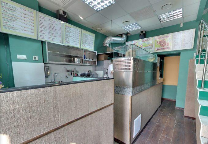Пиццерия Cipollino - открытая кухня