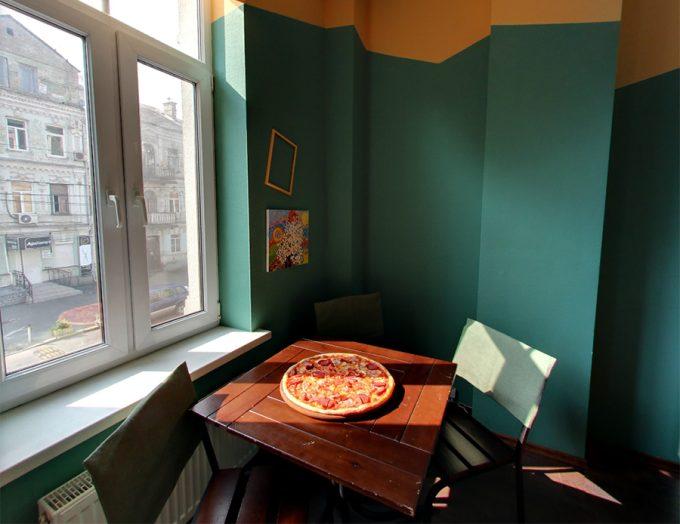 Пиццерия Cipollino - интерьер