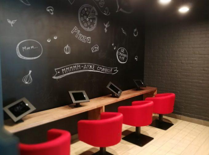 Domino's Pizza в Billa на Ахматовой - игровая зона