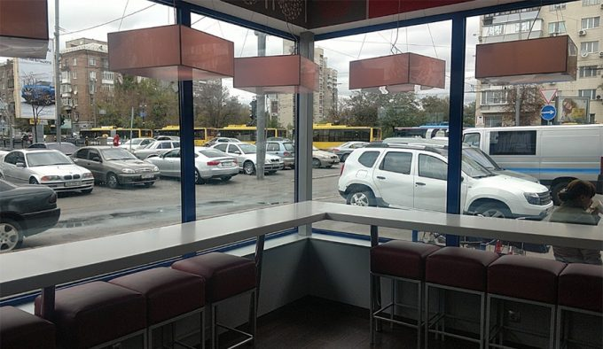 Domino's Pizza на ул. М.Бойчука - интерьер