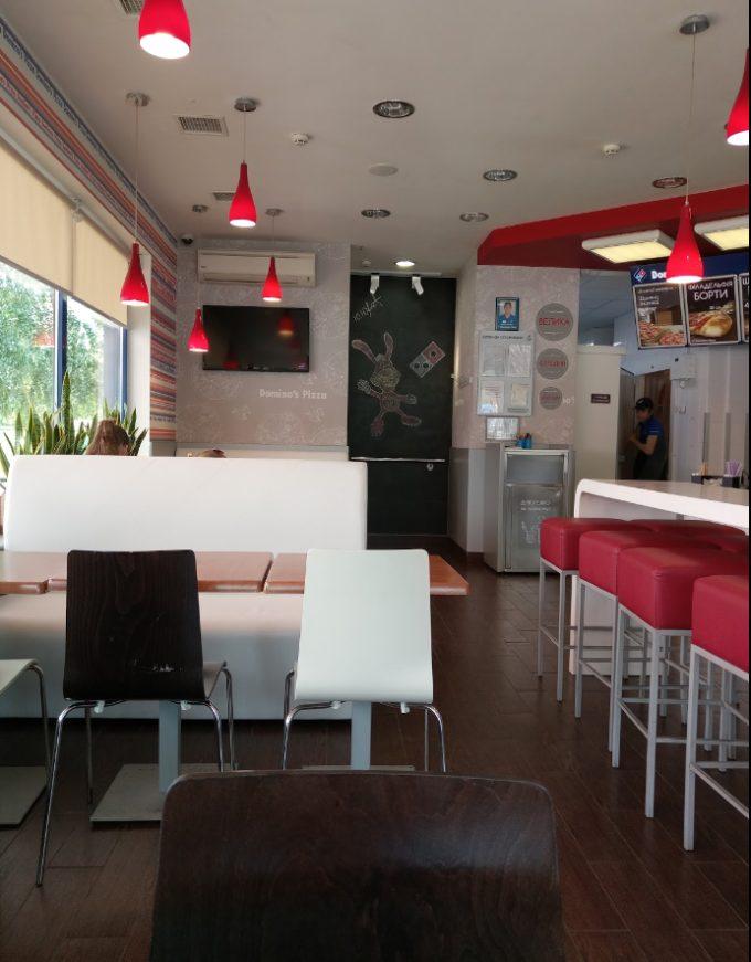 Domino's Pizza на пр. Маяковского - интерьер