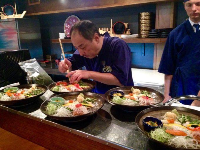 Ресторан «Fujiwara Yoshi»