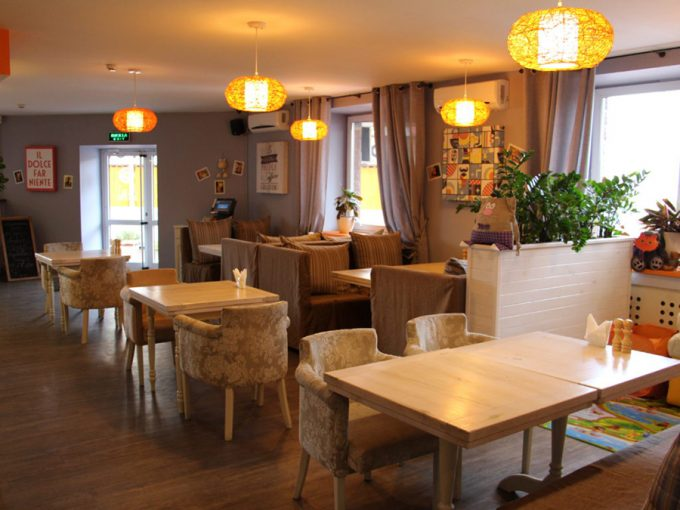 Ресторан IL GATTO ROSSO - интерьер