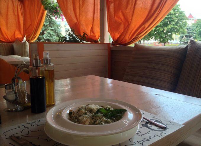 Ресторан IL GATTO ROSSO - летняя терраса