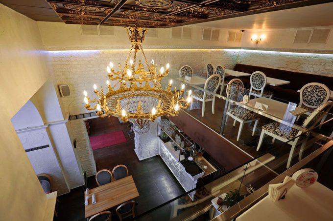 Ресторан MAFIA на Большой Васильковской - интерьер