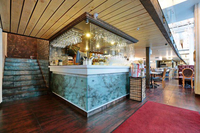 Ресторан MAFIA на ул. Б. Хмельницкого - интерьер