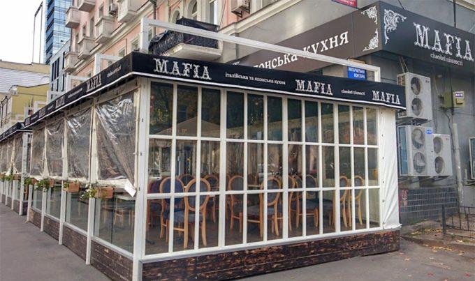 Ресторан MAFIA на ул. Б. Хмельницкого - летняя площадка