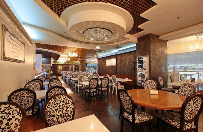 MAFIA в ТРЦ Караван - интерьер ресторана