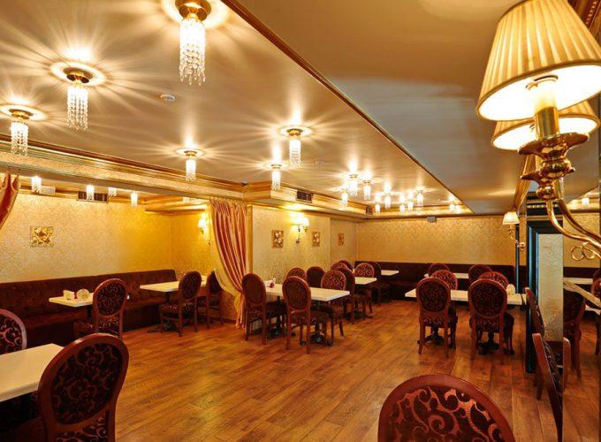 Ресторан Mafia на Крещатике - интерьер