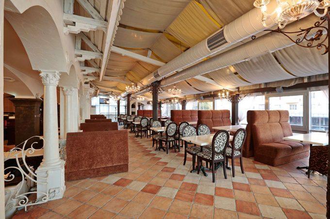 MAFIA на Печерске - интерьер ресторана
