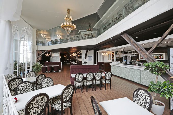 MAFIA в ТРЦ SkyMall - интерьер ресторана