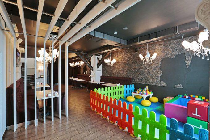 Ресторан MAFIA в ТРЦ SkyMall - детская комната