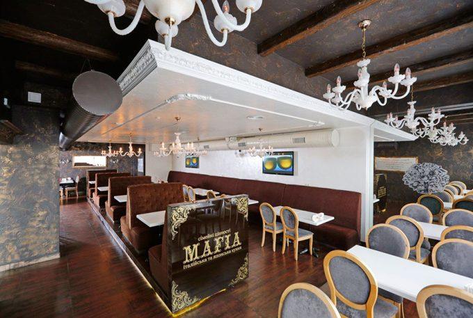 Ресторан MAFIA на ул. Срибнокильской
