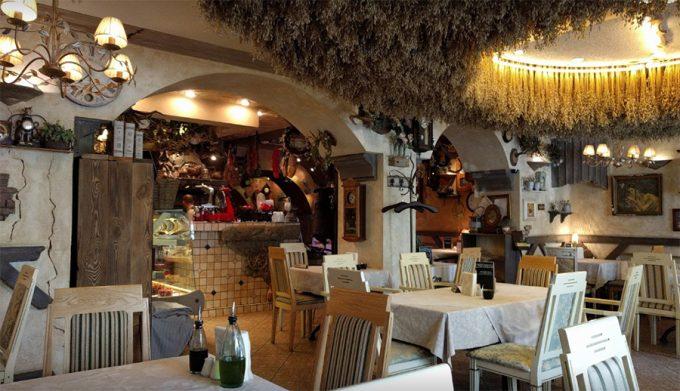 Ресторан-пиццерия Моменто - уютный интерьер