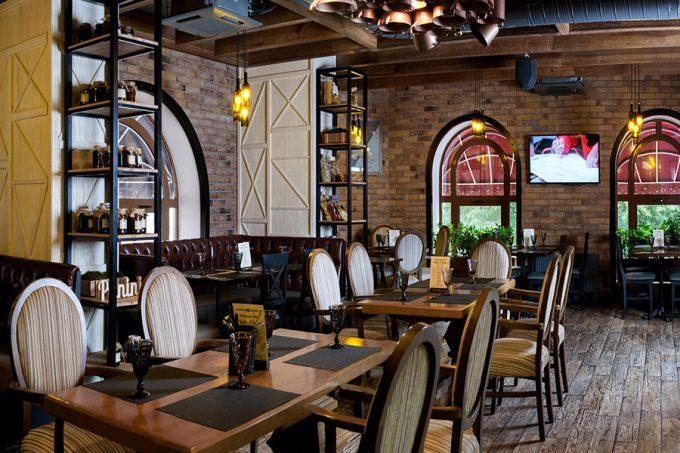 Ресторан Montecchi Capuleti - интерьер и атмосфера