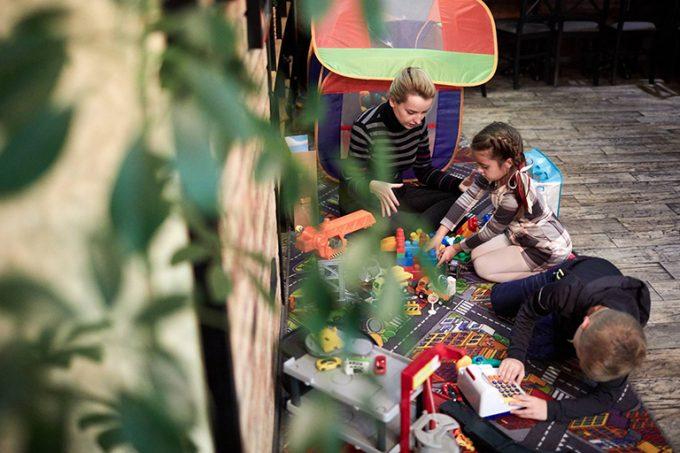 Ресторан Montecchi Capuleti - развлечения для детей
