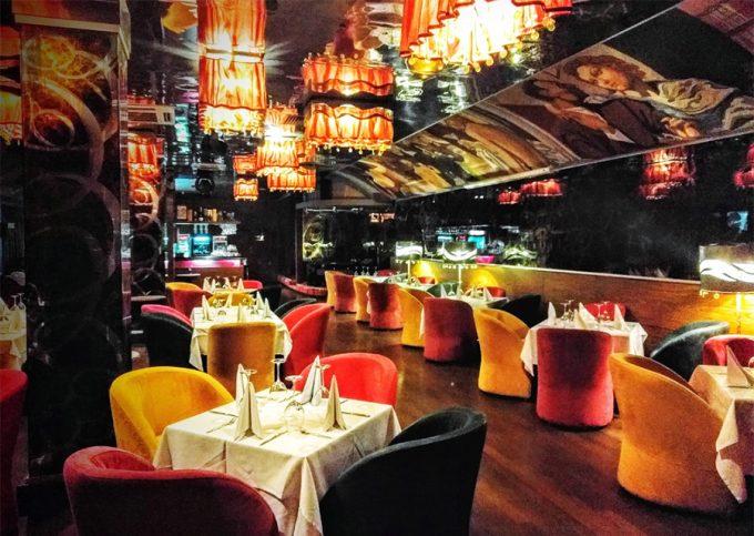 Ресторан «Панорама» - интерьер