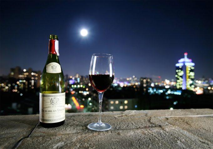 Ресторан «Панорама» - вино