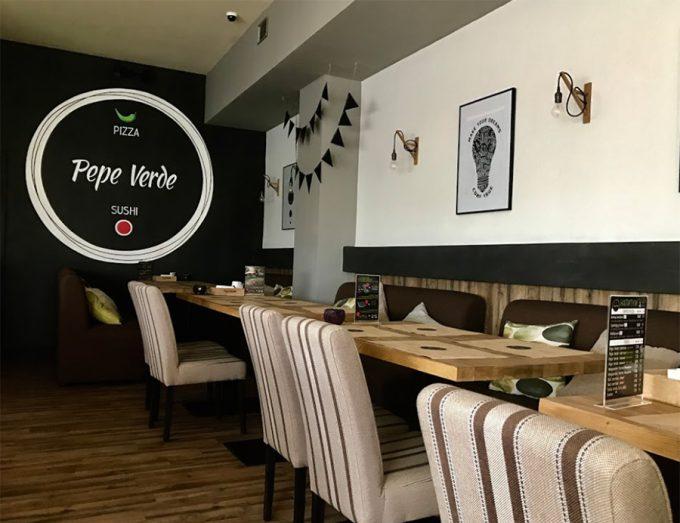 Ресторан Pepe Verde - интерьер