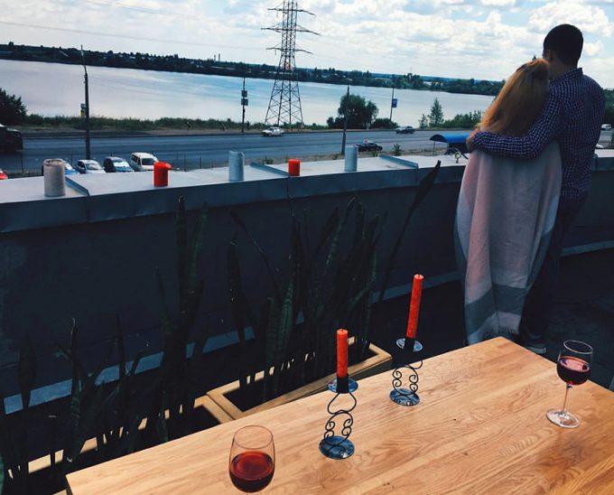 Ресторан Pepe Verde - отдых на крыше