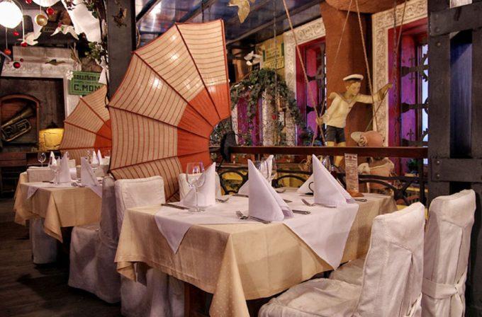Ресторан «Первак» - интерьер