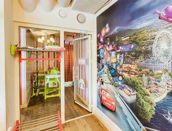 PESTO CAFÉ на Позняках - детская комната