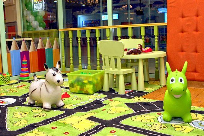 Pesto Café в ТРЦ Блокбастер - детская зона