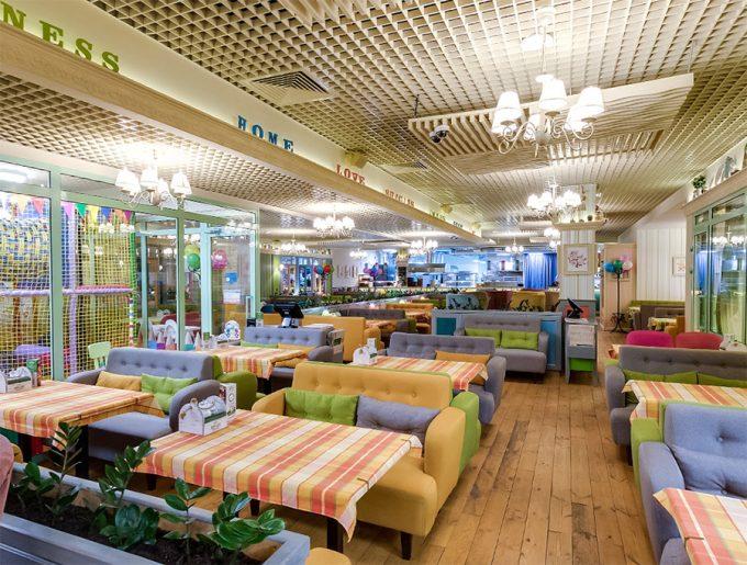 Pesto Café в ТРЦ Блокбастер - интерьер