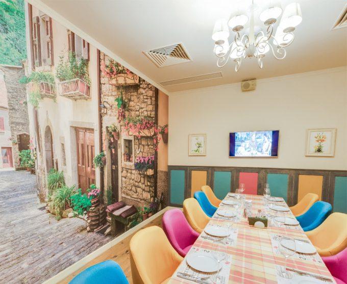 Pesto Café в ТЦ Орнамент - зал для мероприятий