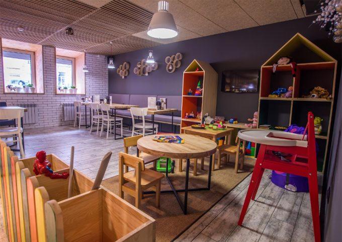 Пиццерия Pizza di Casa на Пушкинской - детская комната