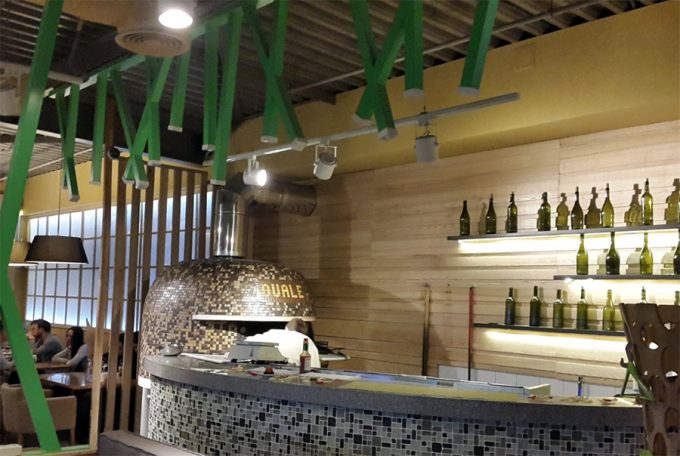 Pizza Ovale в ТРЦ Аладдин - интерьер