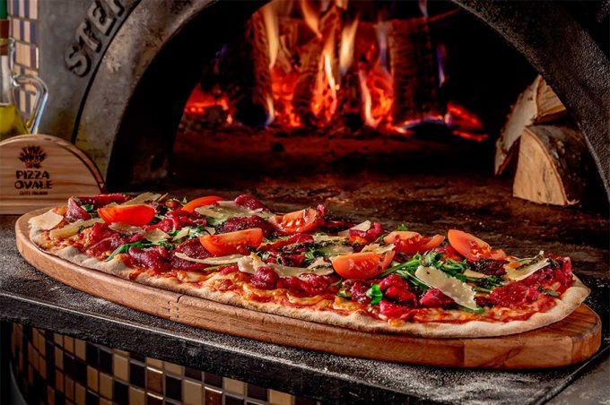 Pizza Ovale в ТРЦ Аладдин - дровяная печь